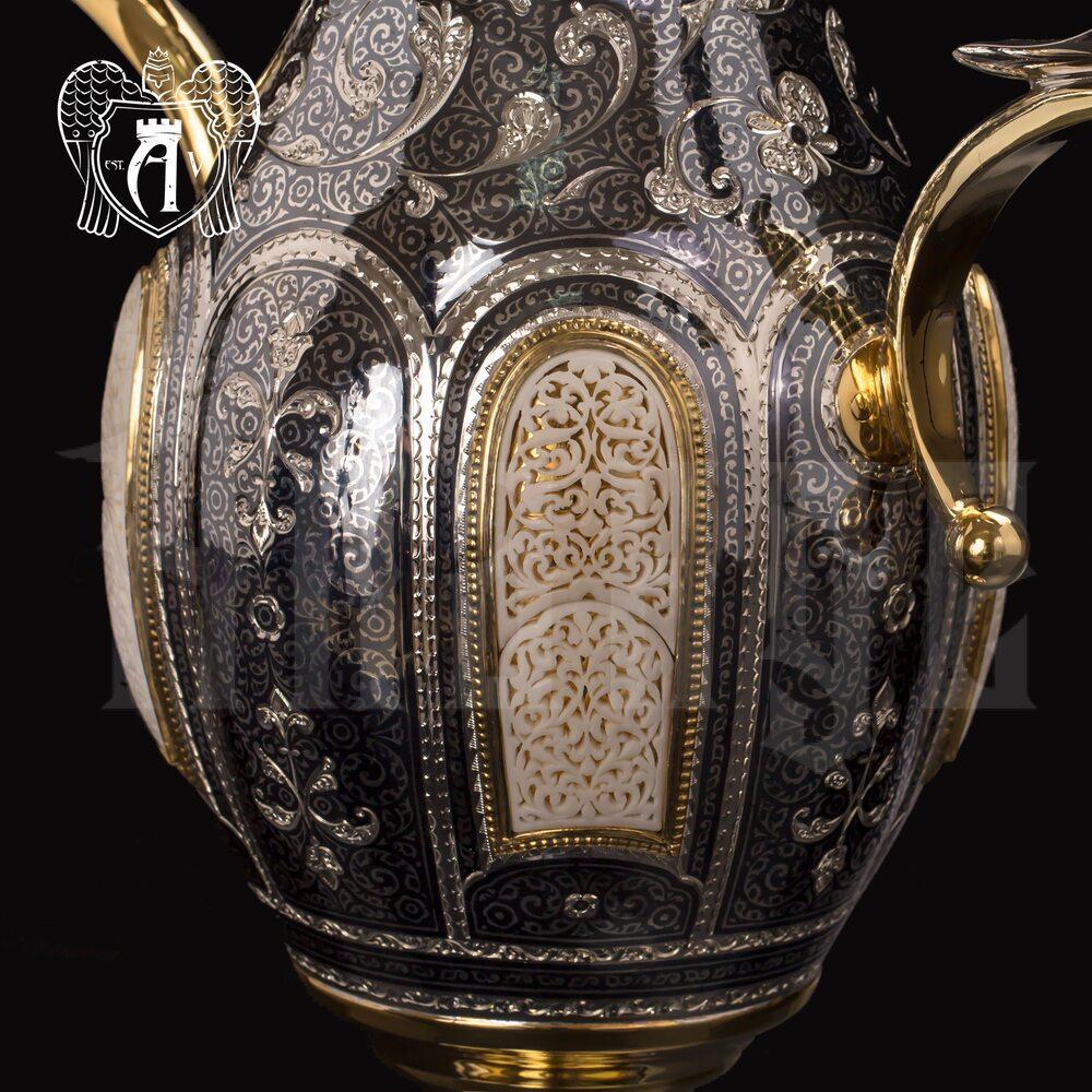 Ваза из серебра с позолотой «Афина» Апанде, 590006