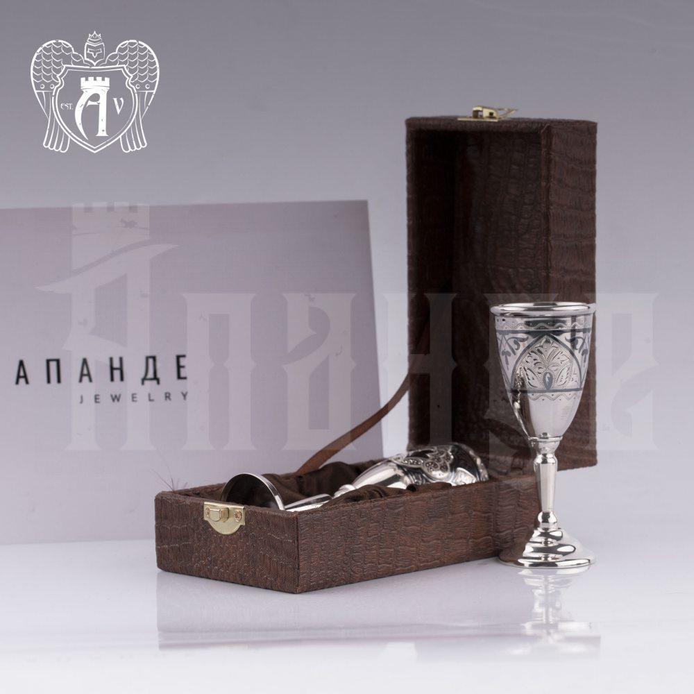 Серебряная рюмка «Шарм»  Апанде, 7500013