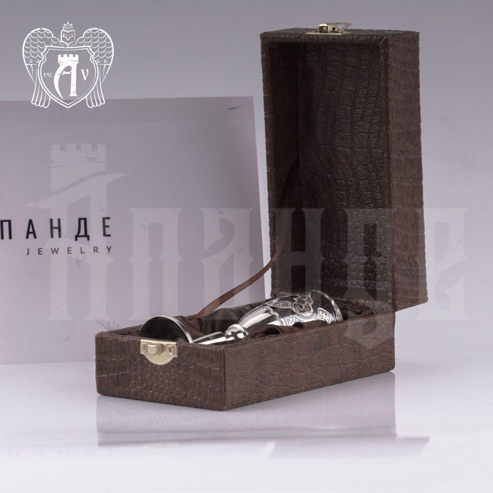 Серебряная рюмка «Шах»  Апанде, 750008