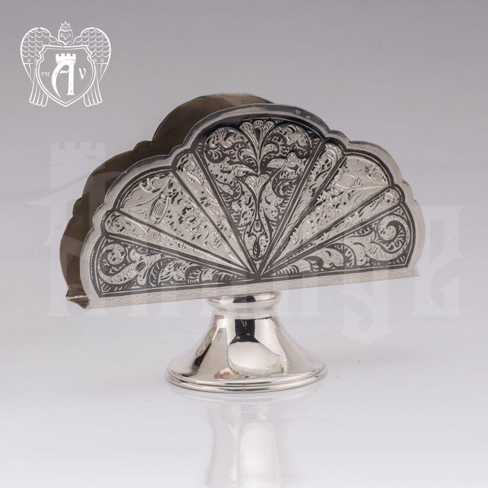 Серебряная салфетница «Катрин»  Апанде, 5100011