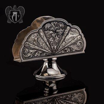 Серебряная салфетница «Катрин»