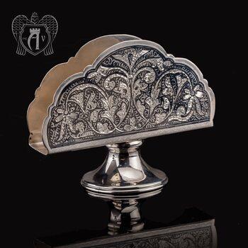 Серебряная салфетница «Клавдия»