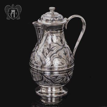 Кувшин из серебра 925 пробы  «Сказка»
