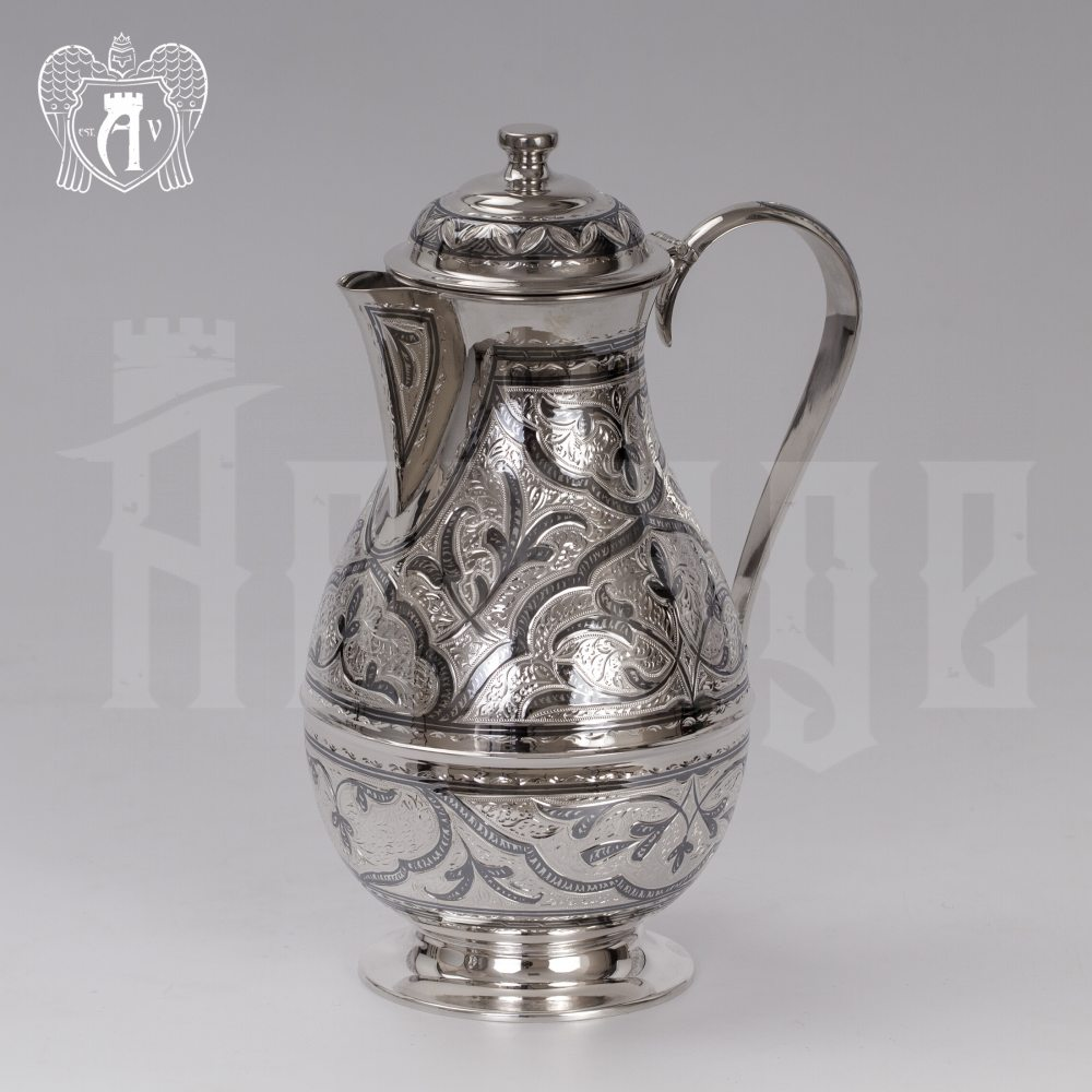 Кувшин из серебра 925 пробы  «Сказка» Апанде, 54000545