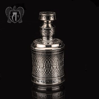 Графин серебряный для виски «Лондон»