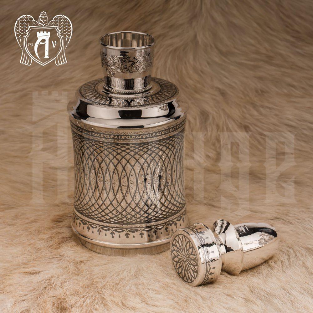 Графин серебряный для виски «Лондон» Апанде, 5400515