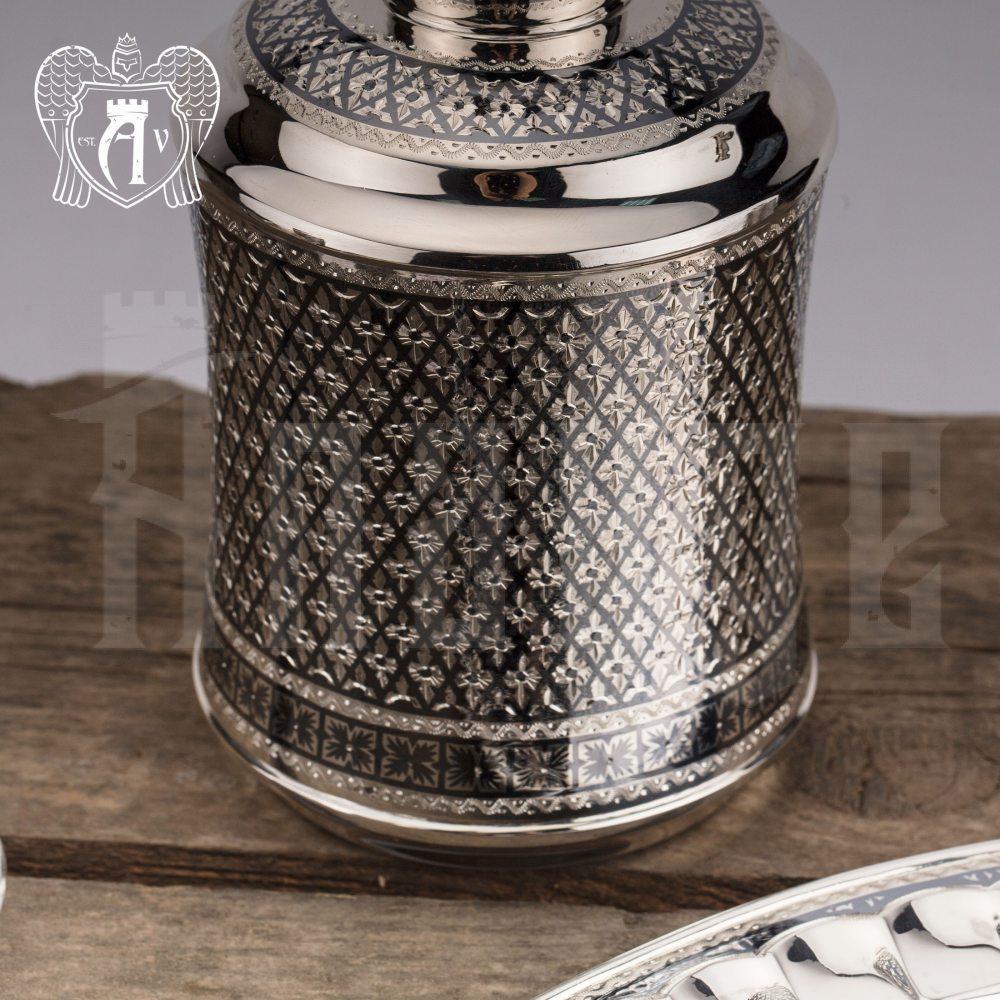 Графин серебряный для виски «Княжеский» Апанде, 5400516