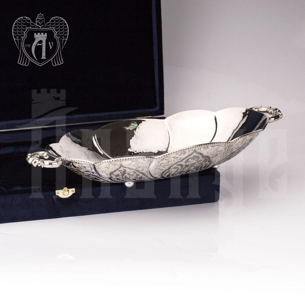 Блюдо из серебра «Мадонна» Апанде, 770008
