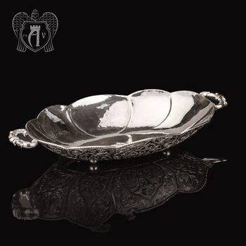Блюдо из серебра «Мадонна»