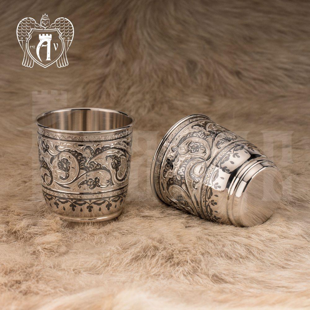 Серебряный сервиз для виски «Гранд»  Апанде, 11100557