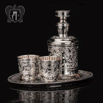 Серебряный сервиз для виски «Гранд»
