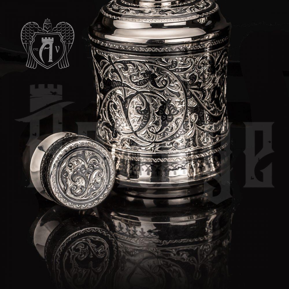 Графин серебряный для виски «Гранд» Апанде, 5400517