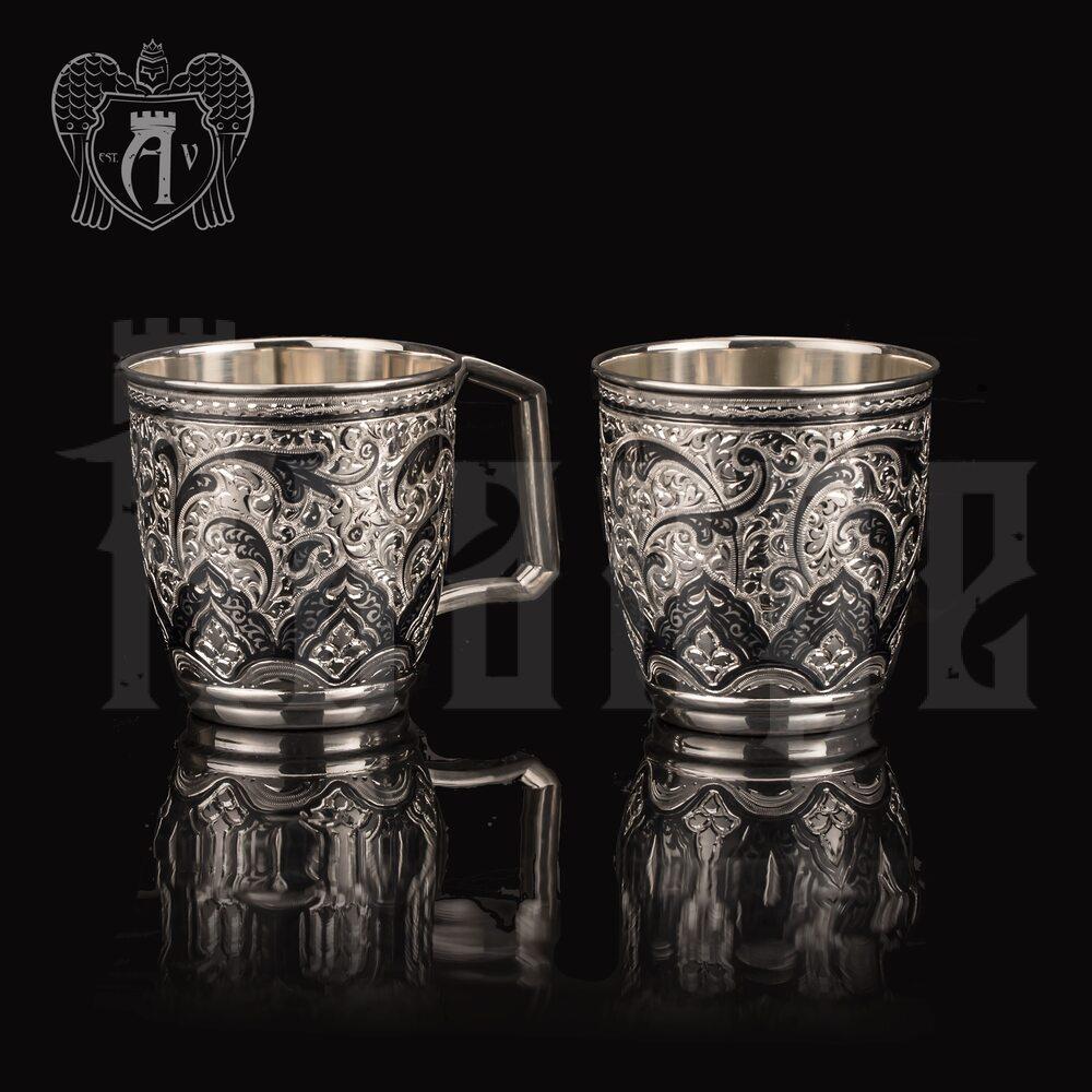 Набор серебряных кружек «Клер» Апанде, 32009147