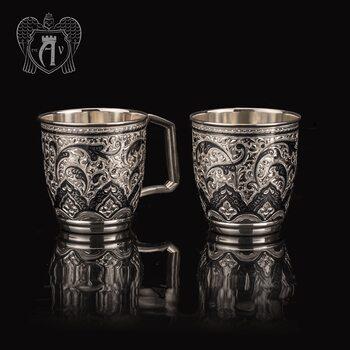 Набор серебряных кружек «Клер»