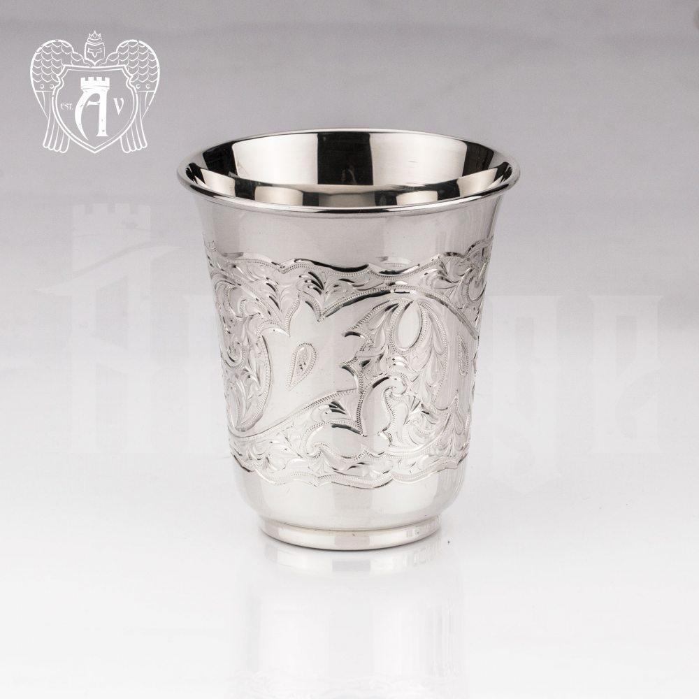 Серебряный стакан «Райский родник» 925 пробы  Апанде, 71000445