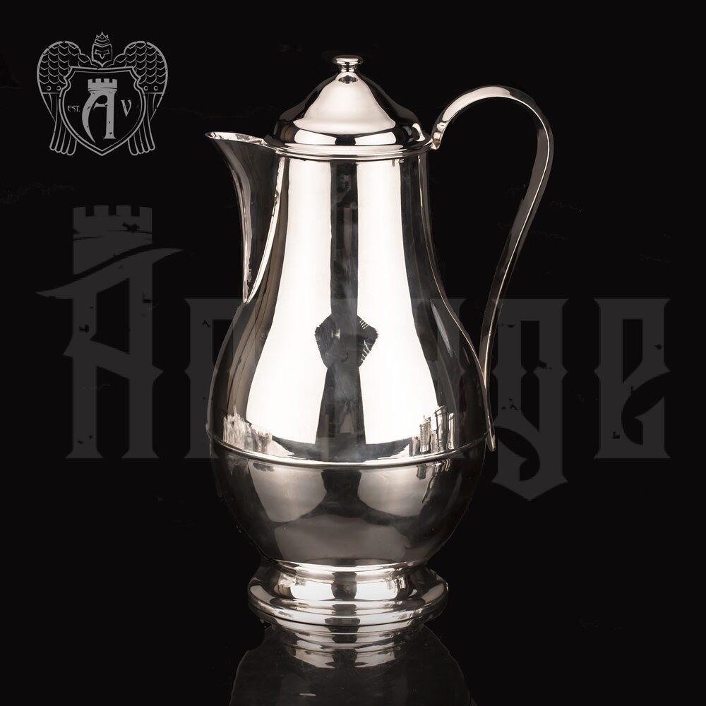 Большой кувшин для напитков из серебра «Глянец»  Апанде, 54000784