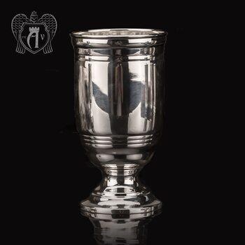 Кубок из чистого серебра 999 пробы «Глянец»