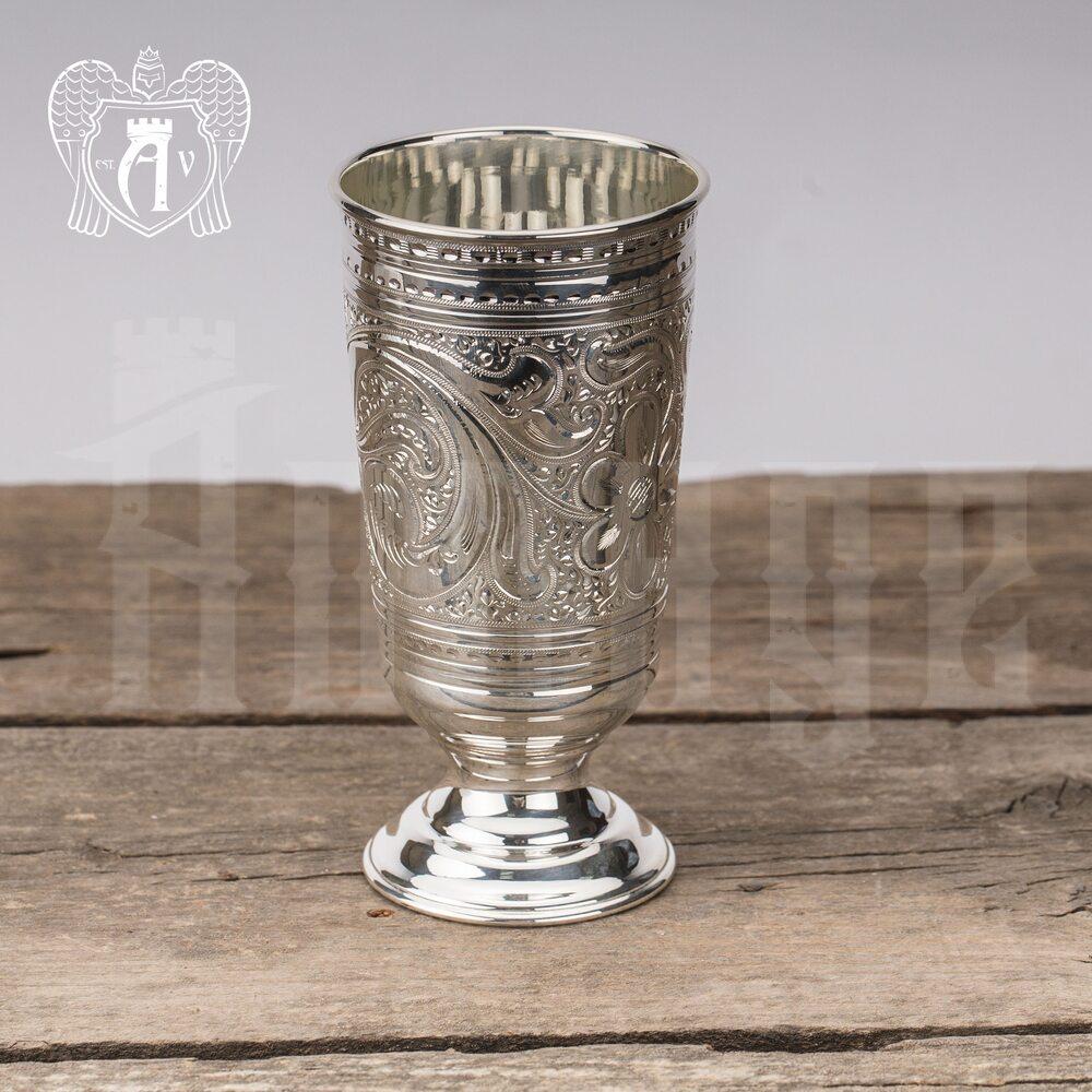 Стакан из чистого серебра 999 пробы «Агат» Апанде, 71000465