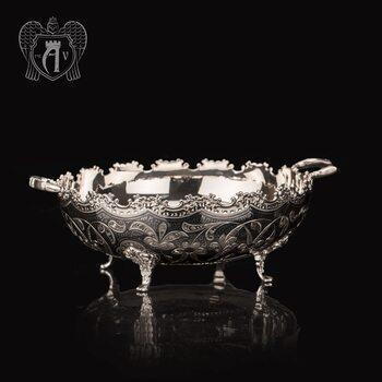 Серебряная ваза с ручками «Джоконда»