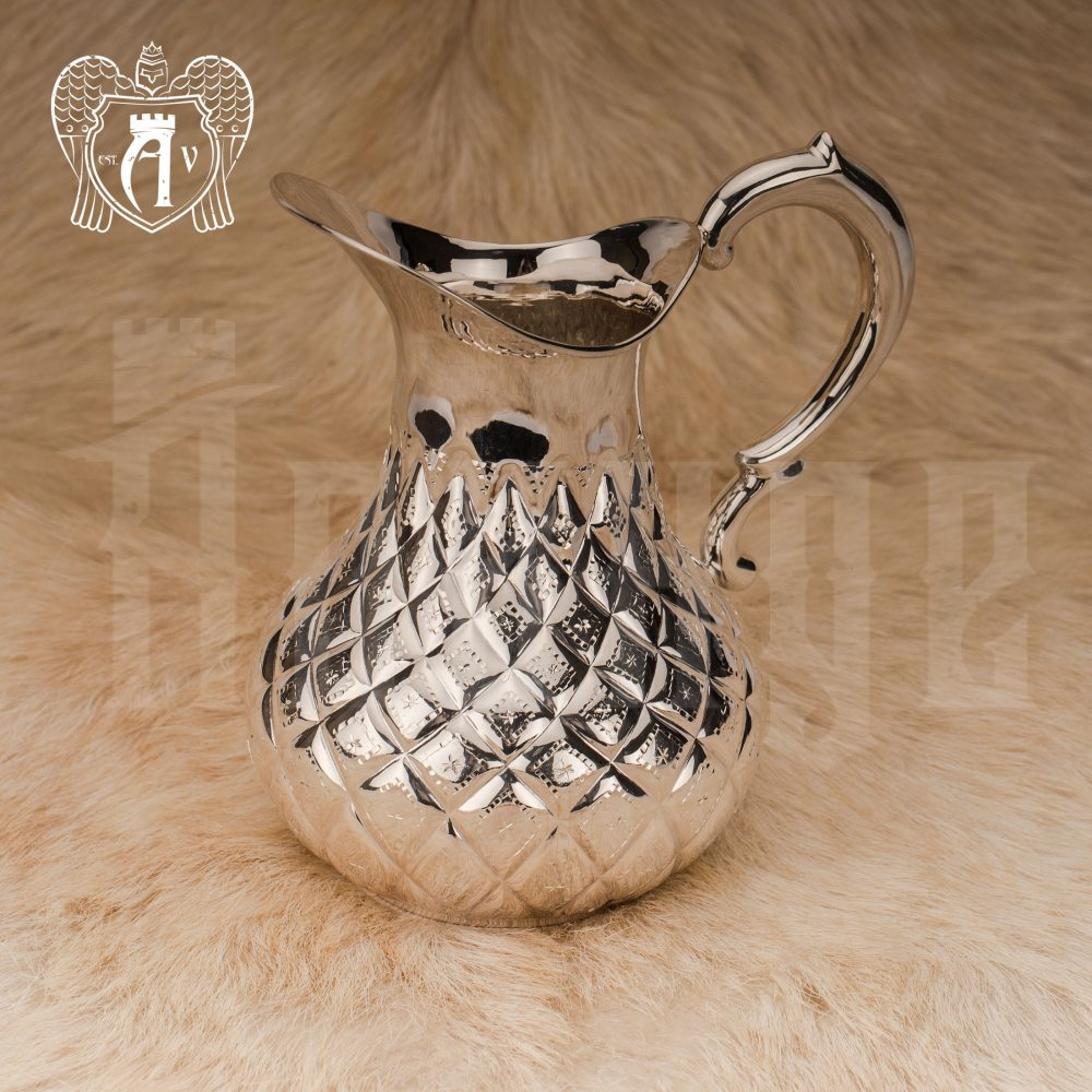 Кувшин из серебра  «Грация» без крышки Апанде, 54000564