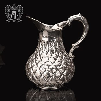 Кувшин из серебра  «Грация» без крышки