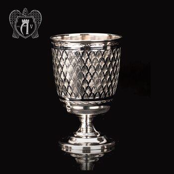 Бокал из серебра «Лорд»