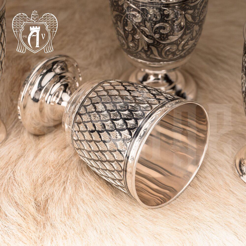 Бокалы из серебра «Лорд»  Апанде, 71000469