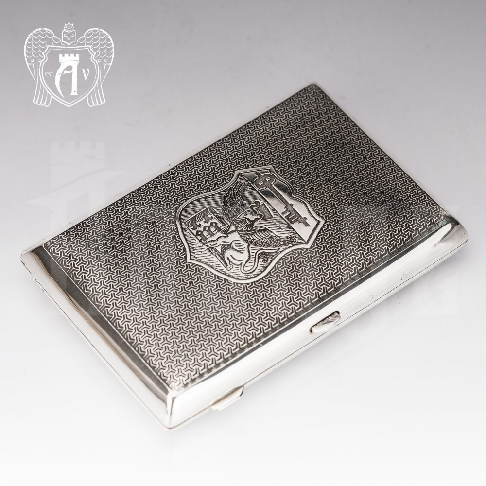 Портсигар из серебра «Арден» Апанде, 53000563