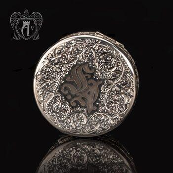 Таблетница серебряная  «Именная»