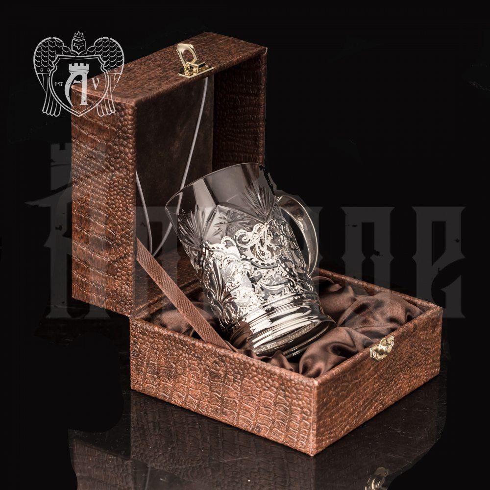 Подстаканник  из серебра «Бомонт» Апанде, 88000111