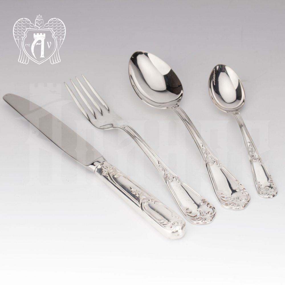 Набор столового серебра  «Маркиза» 24 предмета Апанде, 22000224