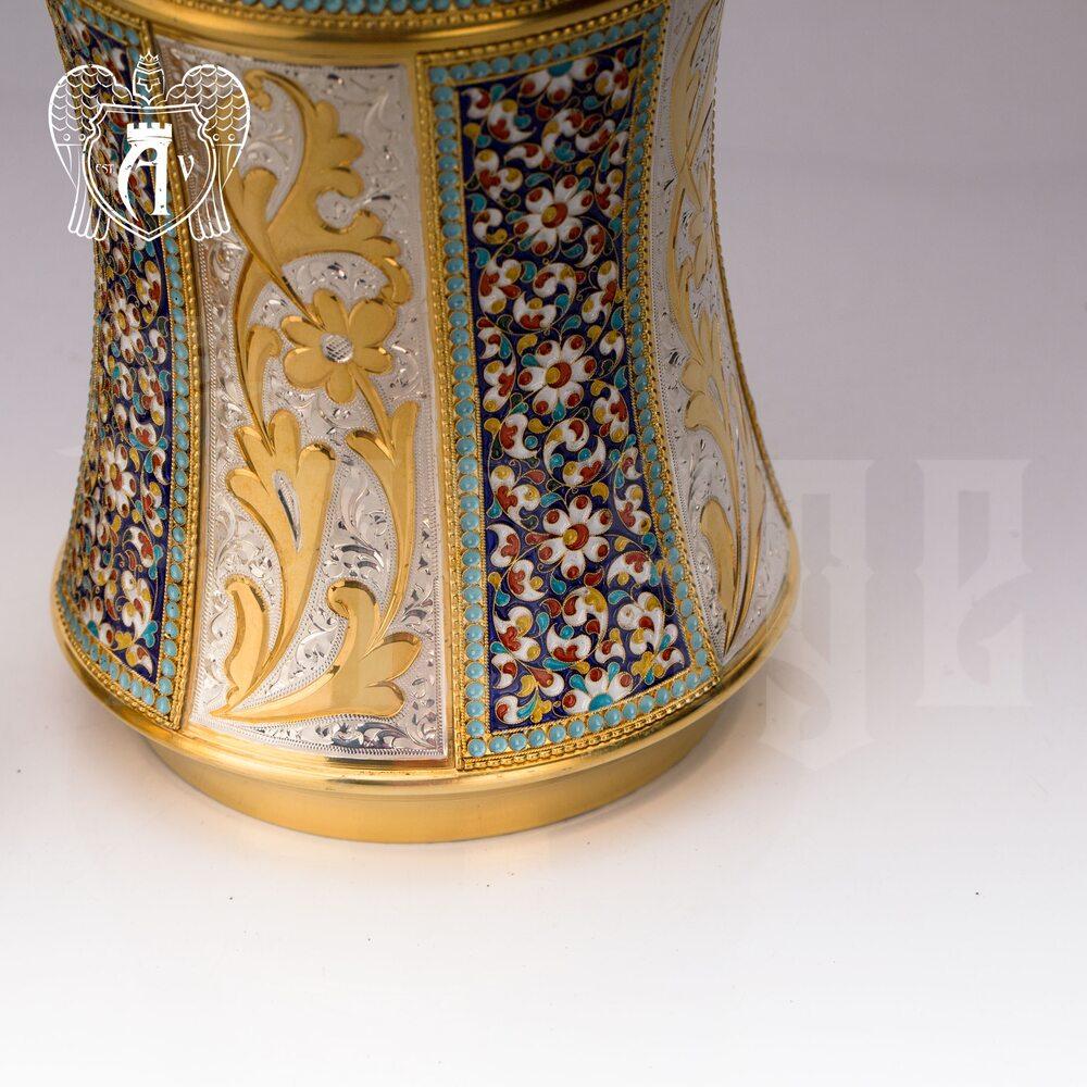 Водочный графин  «Наполеон» с золочением и эмалью Апанде, 5400503