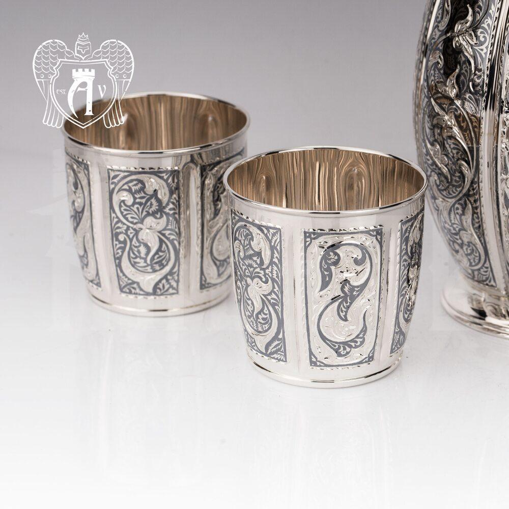 Серебряный стакан «Семирамида»  Апанде, 71000420