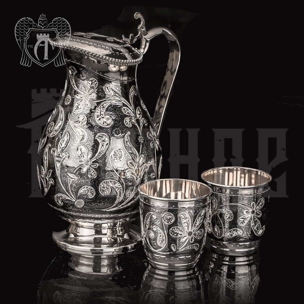 """Сервиз серебряный  """"Мирида""""   Апанде, 11100094"""