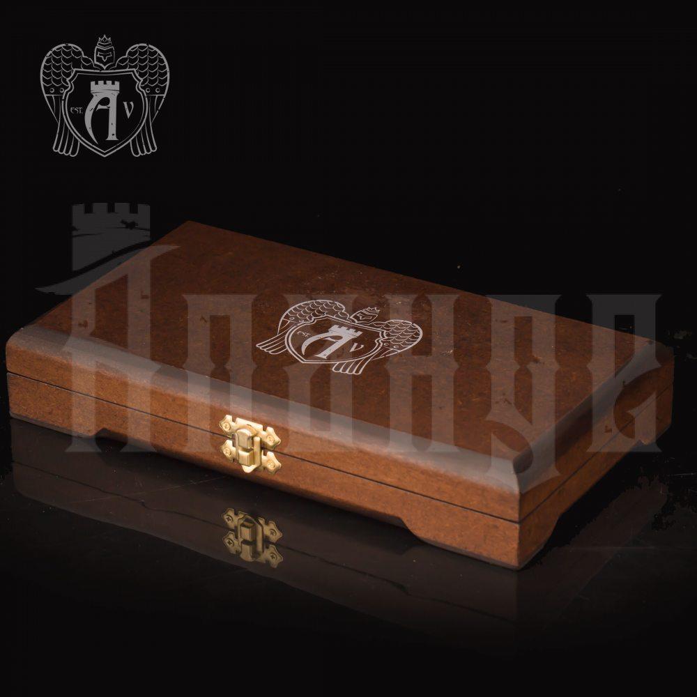 Столовый набор из серебра 925 пробы 2 персоны «Виноградная лоза» 4 предмета Апанде, 11100022931