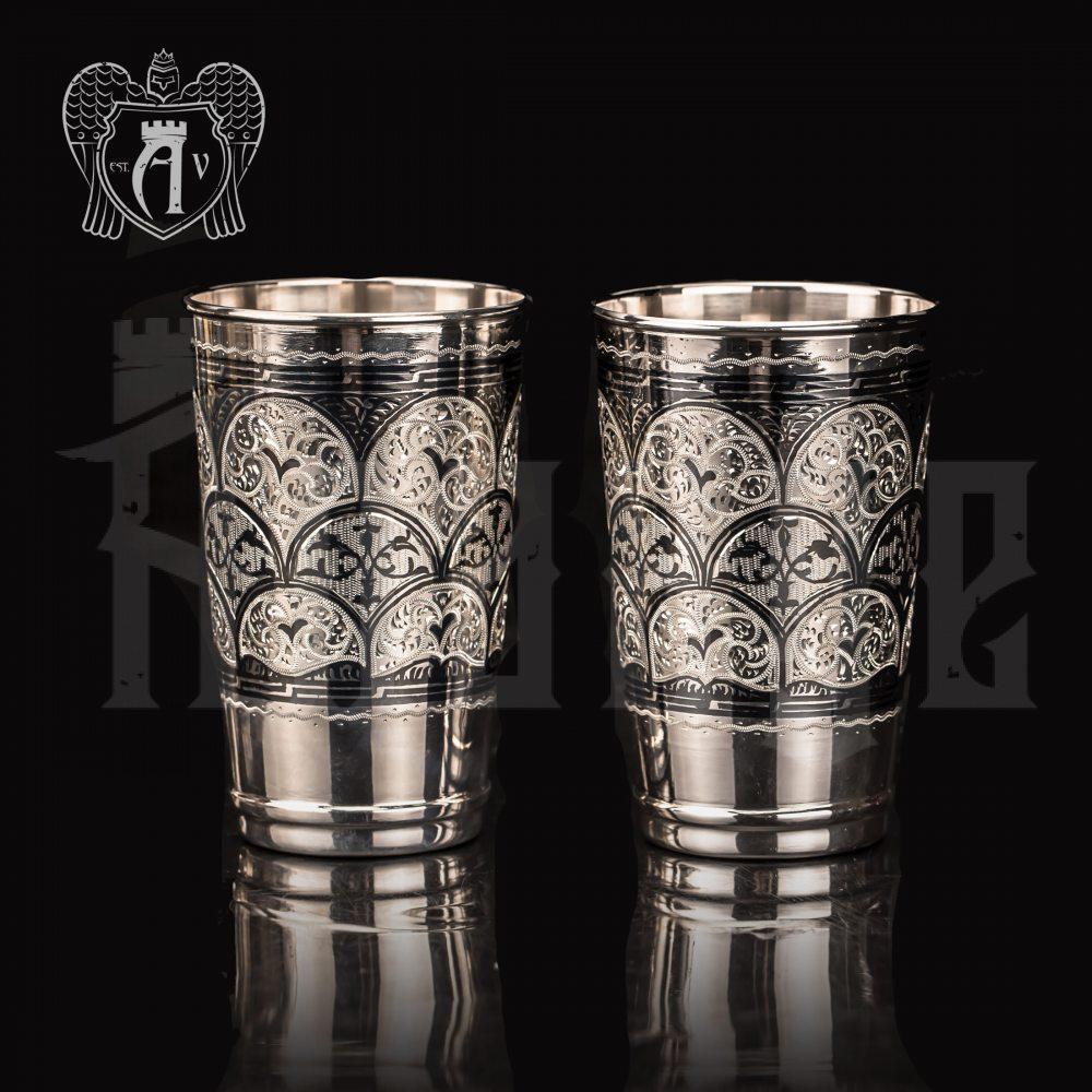 Серебряные стаканы «Палома» серия Верона Апанде, 71000417