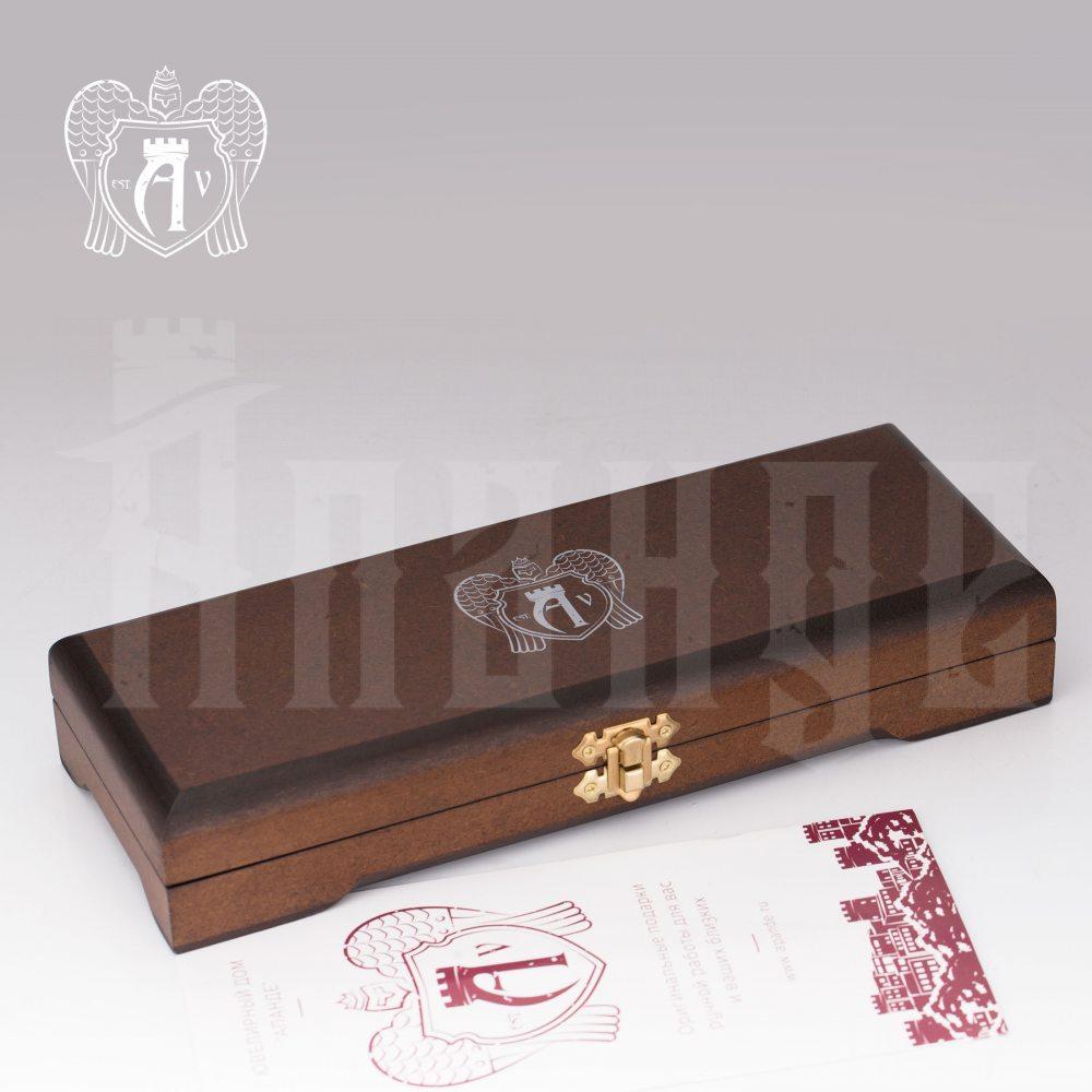 Серебряный столовый набор «Элегант» 3 предмета Апанде, 220004