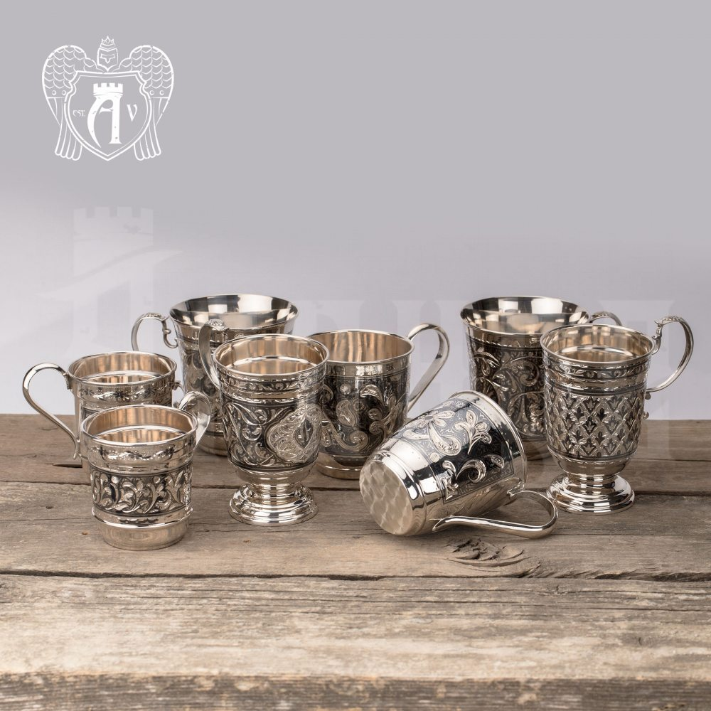 Кружка из серебра для напитков  «Елочка» Апанде, 32009117