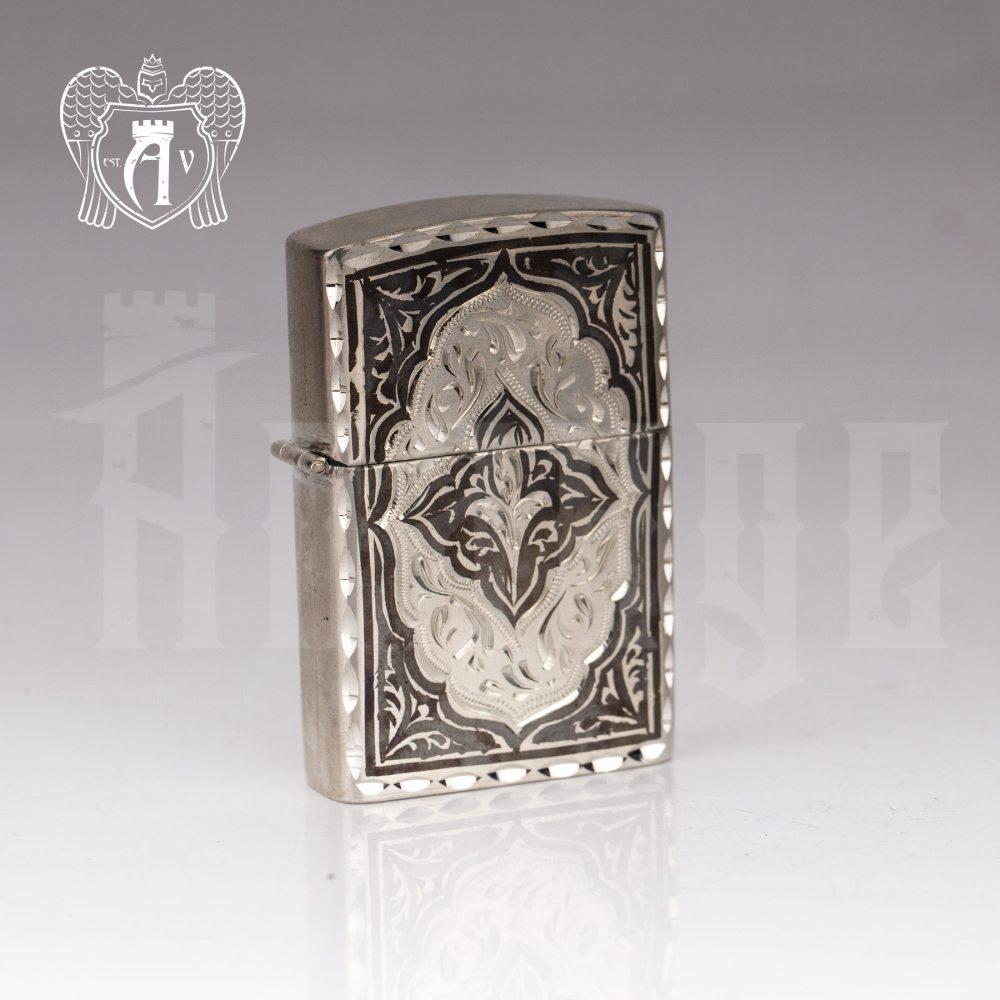 Зажигалка из серебра  «Велес»  Апанде, 5500021