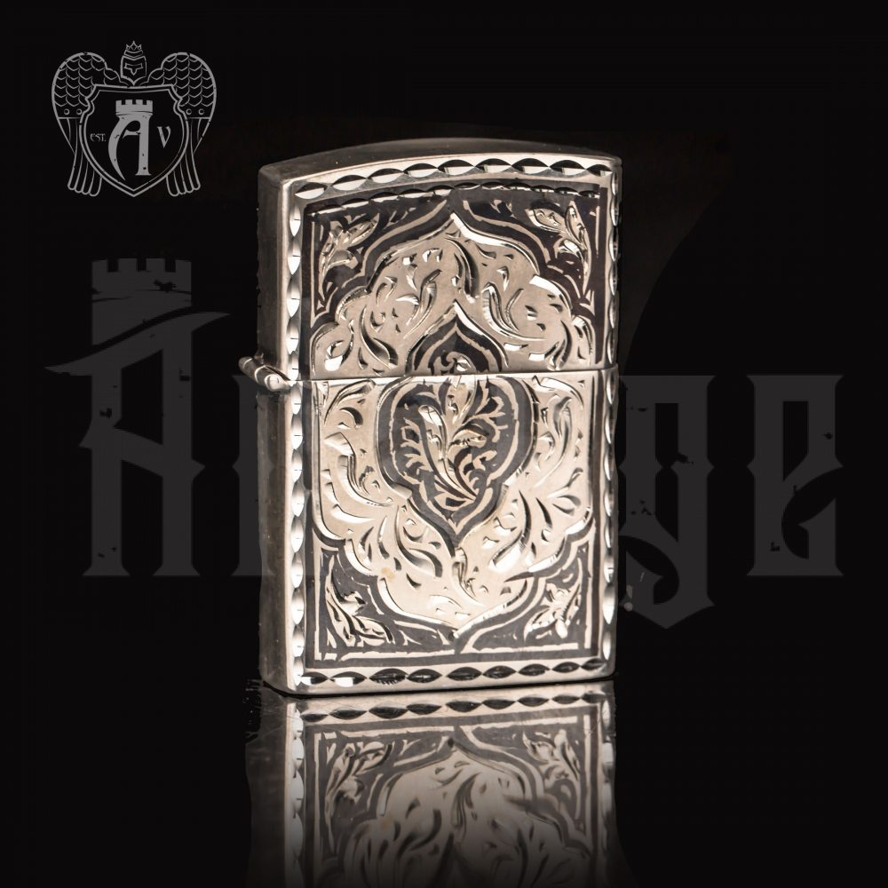 Зажигалка из серебра  «Клод»  Апанде, 5500022