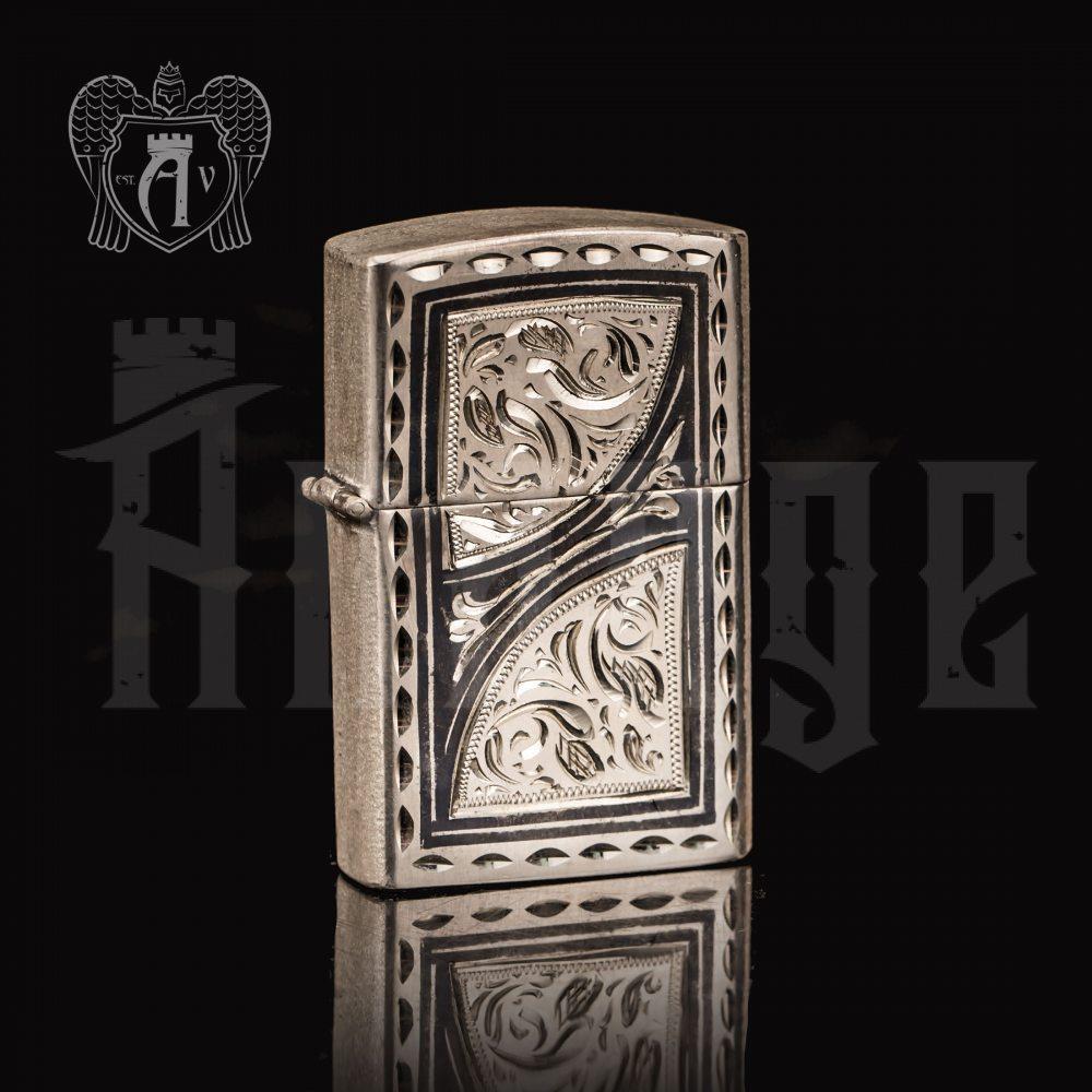 Зажигалка из серебра  «Мираж»  Апанде, 5500023