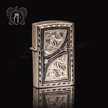 Зажигалка из серебра  «Мираж»