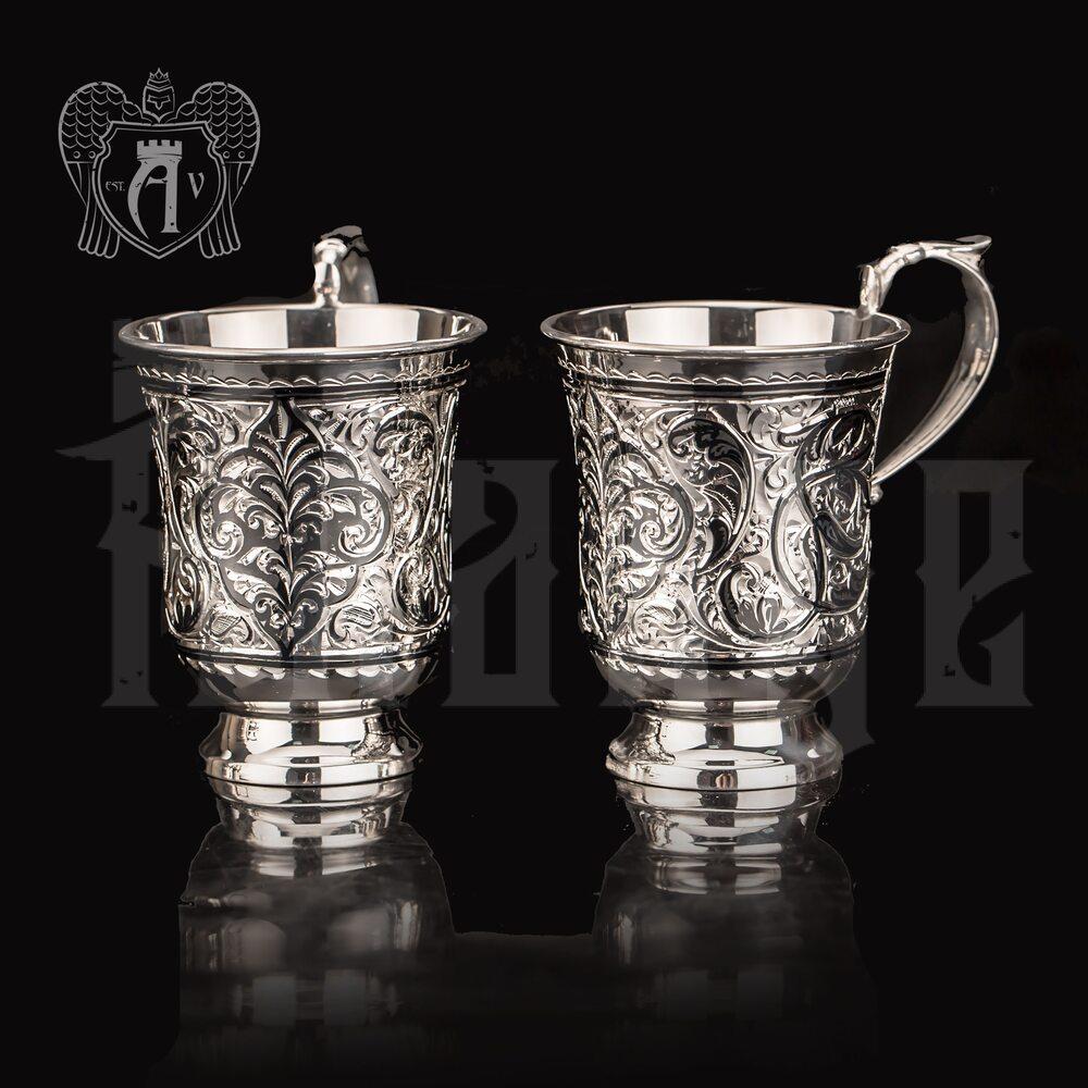 Набор серебряных кружек «Донна»