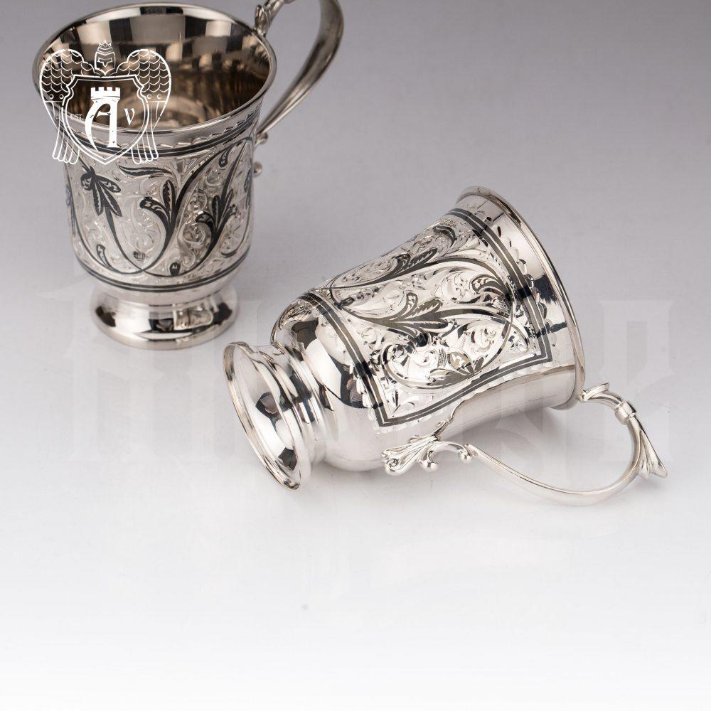 Набор серебряных кружек «Клодия»