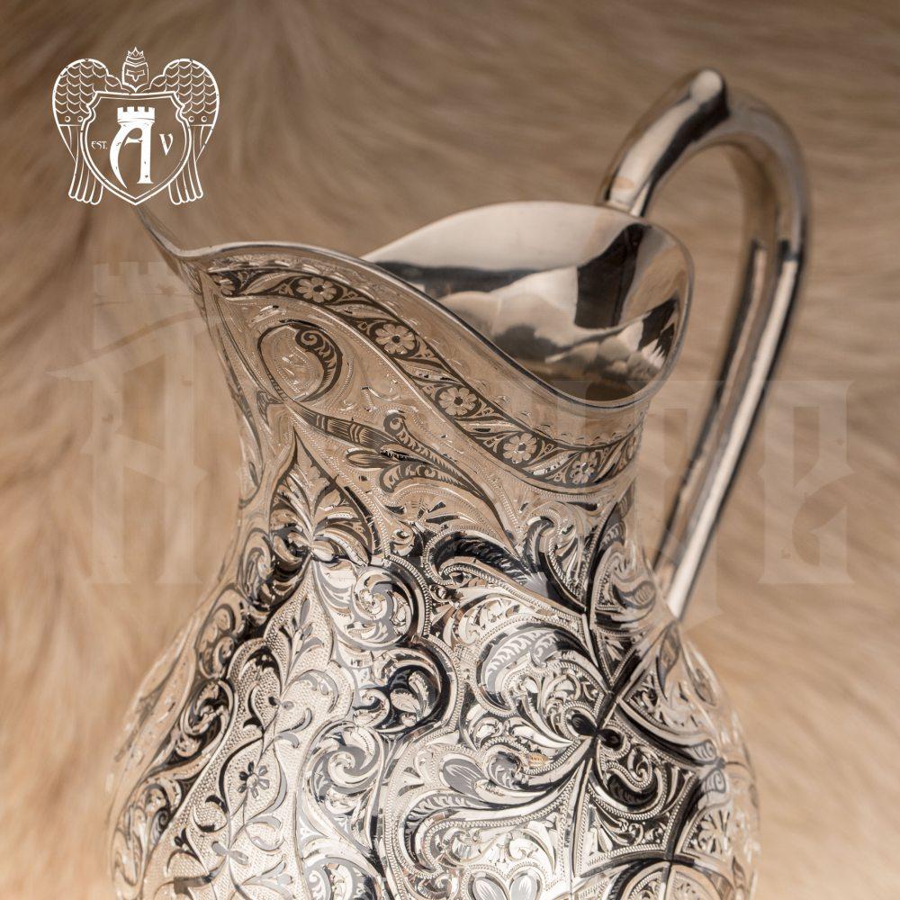 Кувшин из серебра  «Каллисто»