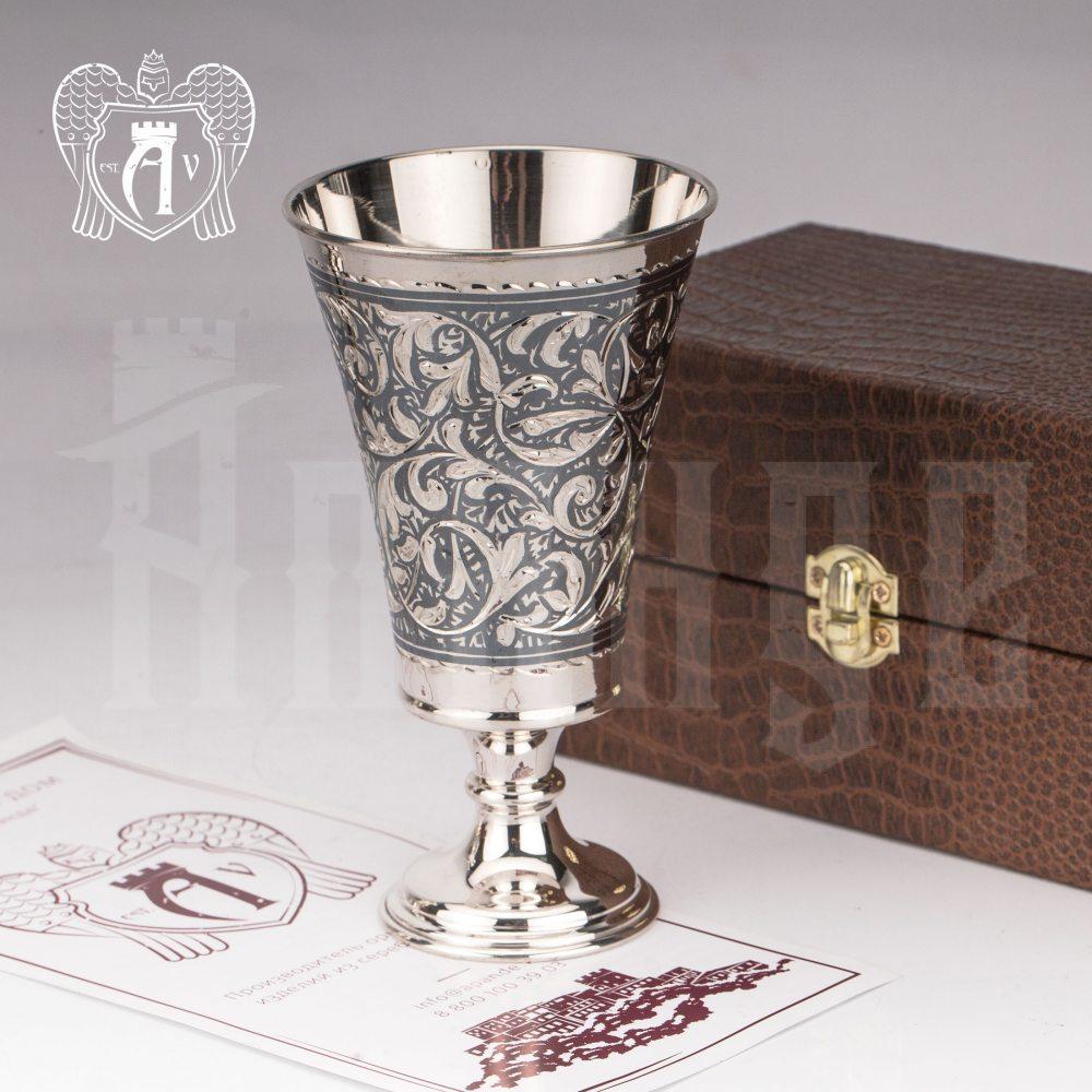 Серебряный стакан «Клио»