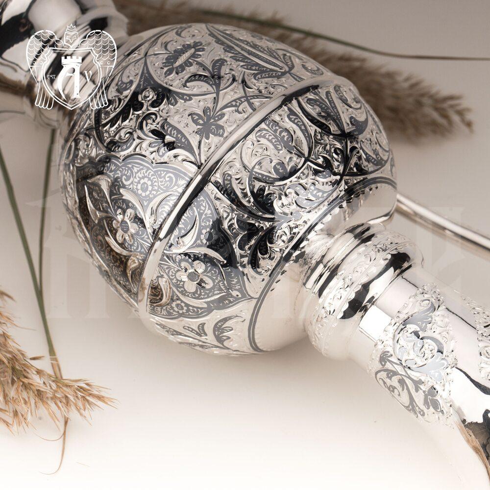 Кувшин из серебра  «Лора»