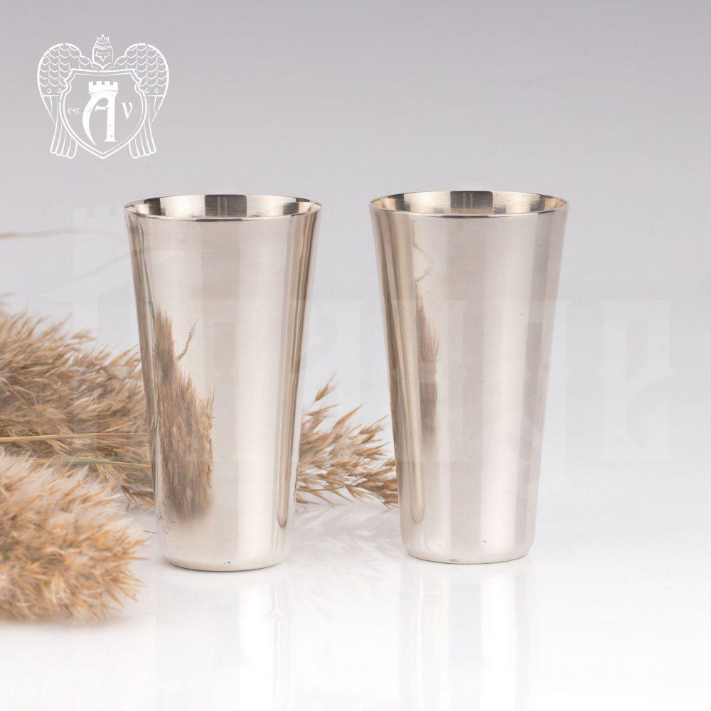 Набор серебряных стопок  «Глянец»