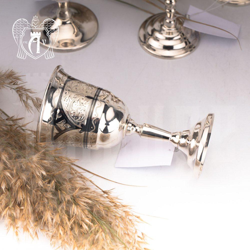 Набор рюмок из серебра  «Эскобар» 2 шт