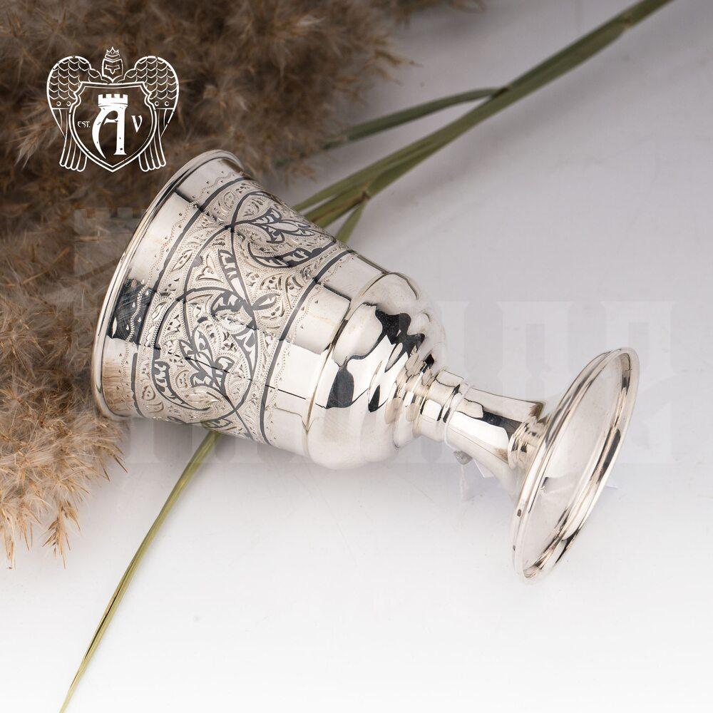 Серебряные стаканы  «Рагнар» 2 шт набор